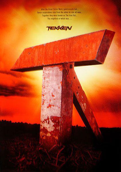 плакат фильма тизер Теккен
