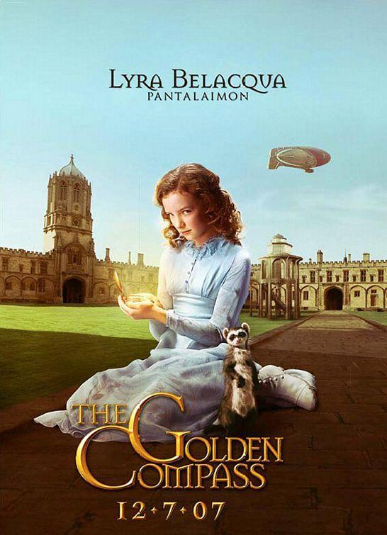 плакат фильма характер-постер Золотой компас
