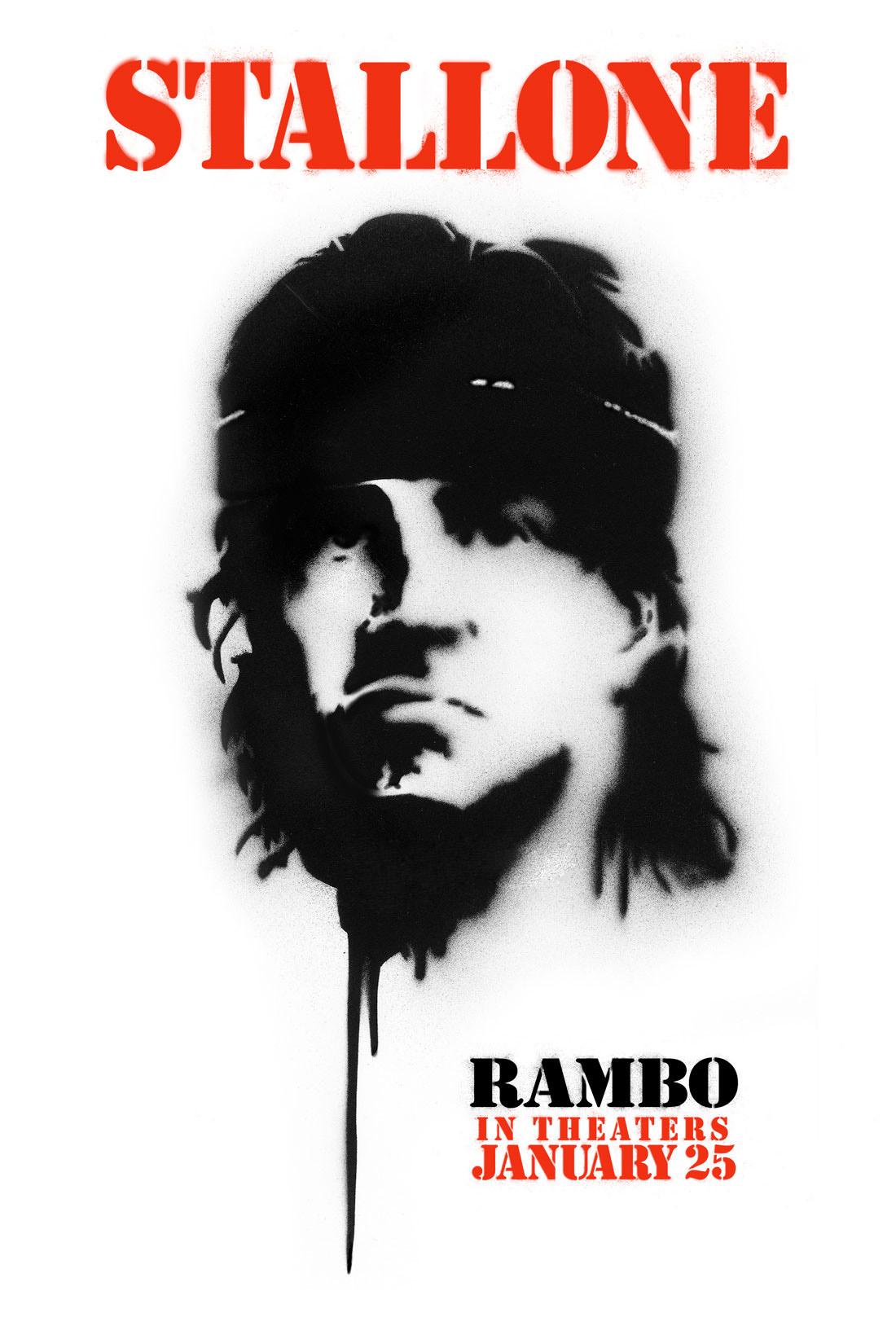 плакат фильма Рэмбо IV