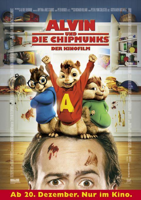плакат фильма Элвин и бурундуки