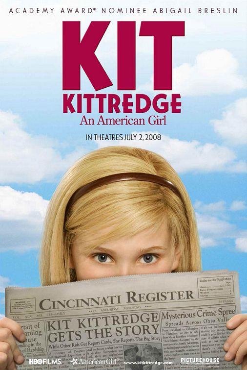плакат фильма Кит Киттредж: Американская девочка*