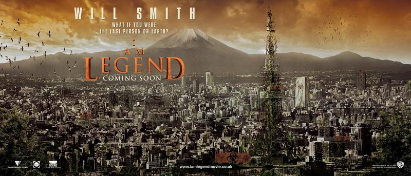 плакат фильма Я — легенда