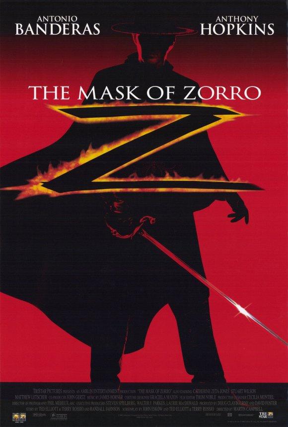 плакат фильма постер Маска Зорро