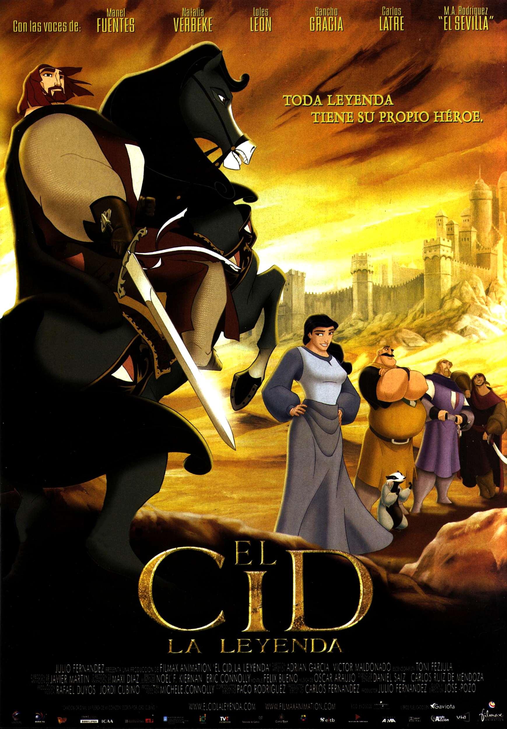 плакат фильма Легенда о рыцаре