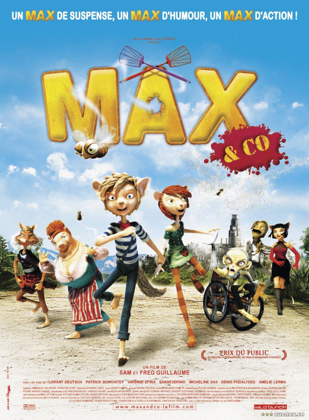 плакат фильма Макс и его компания