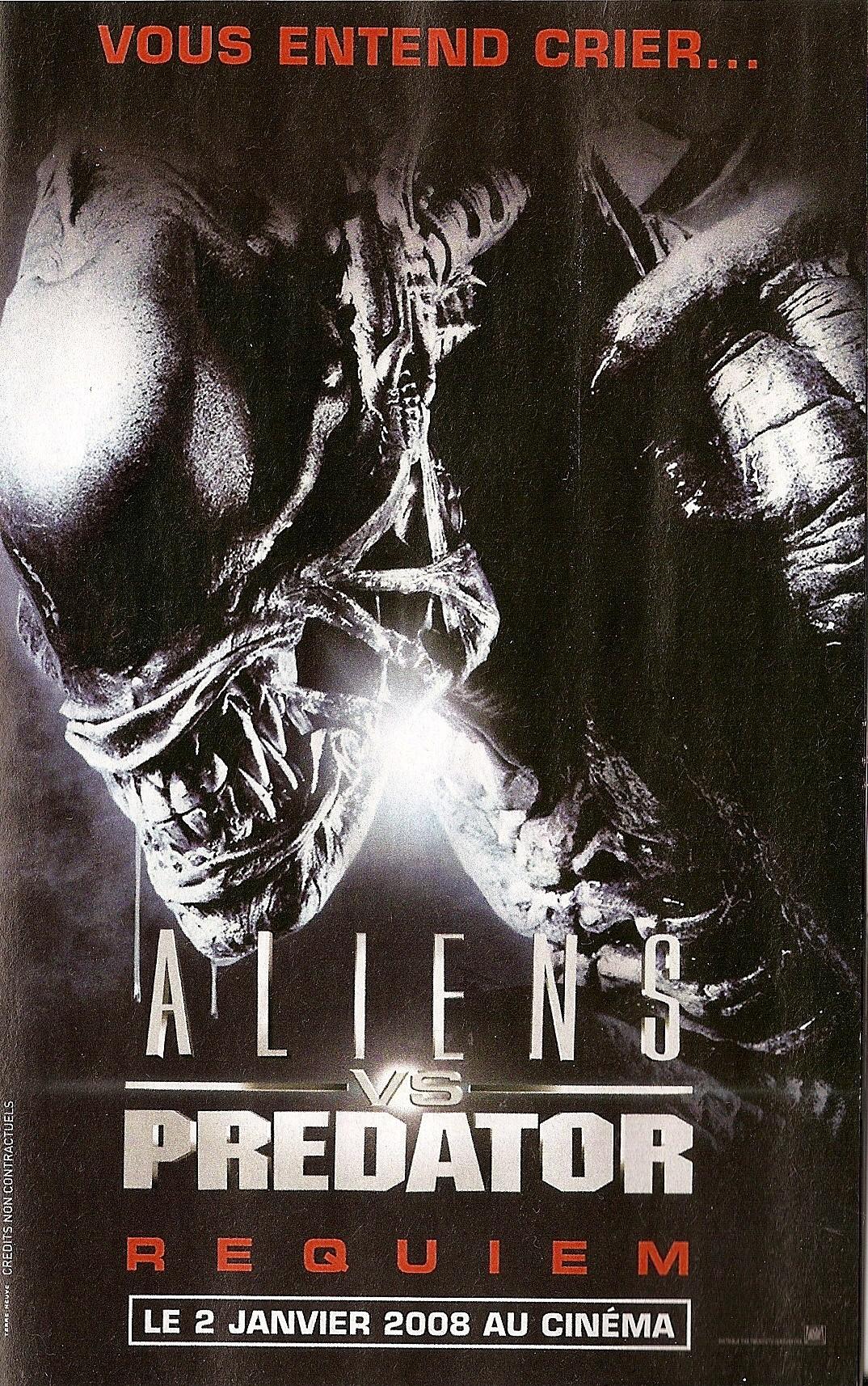 плакат фильма Чужие против Хищника: Реквием