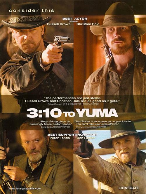 плакат фильма Поезд на Юму
