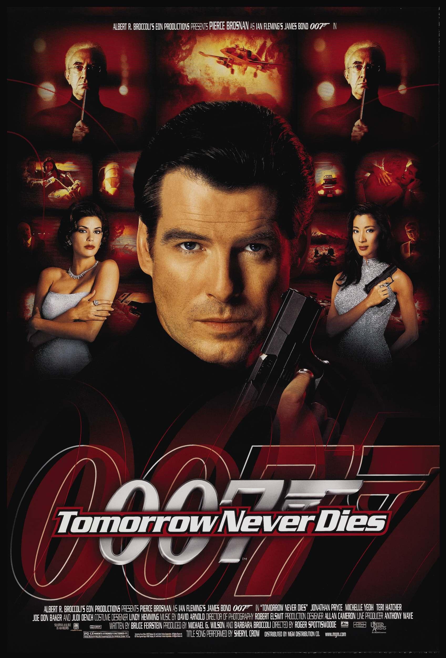 плакат фильма Завтра не умрет никогда