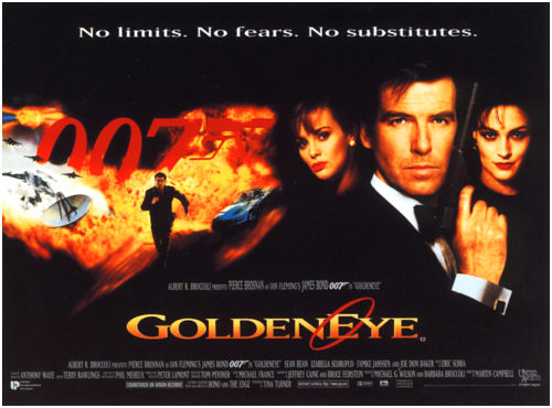 плакат фильма Золотой глаз