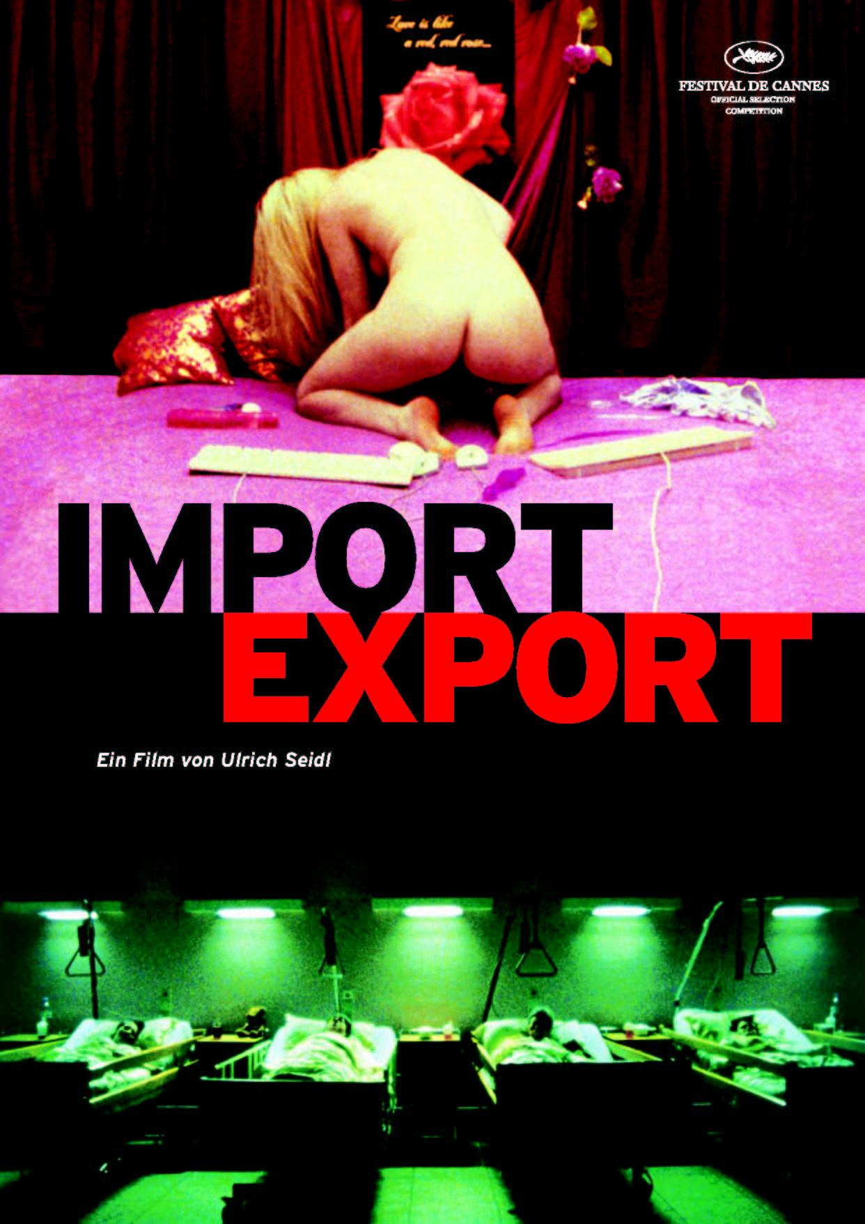 плакат фильма Импорт-экспорт