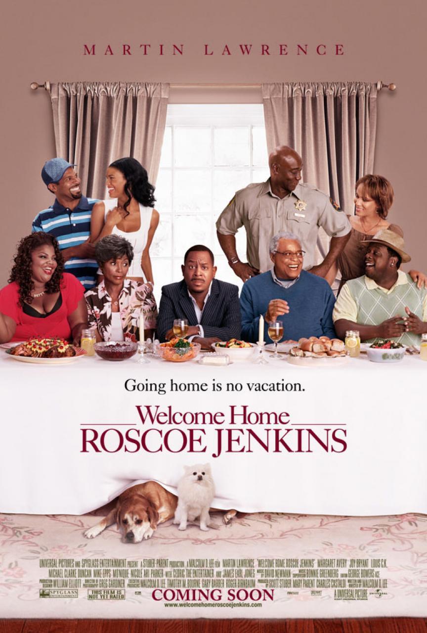 плакат фильма Добро пожаловать домой, Роско Дженкинс*