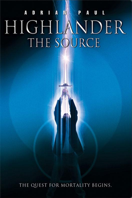 плакат фильма Горец: Источник