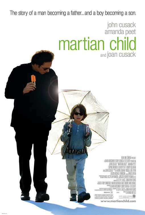 плакат фильма постер Дитя с Марса