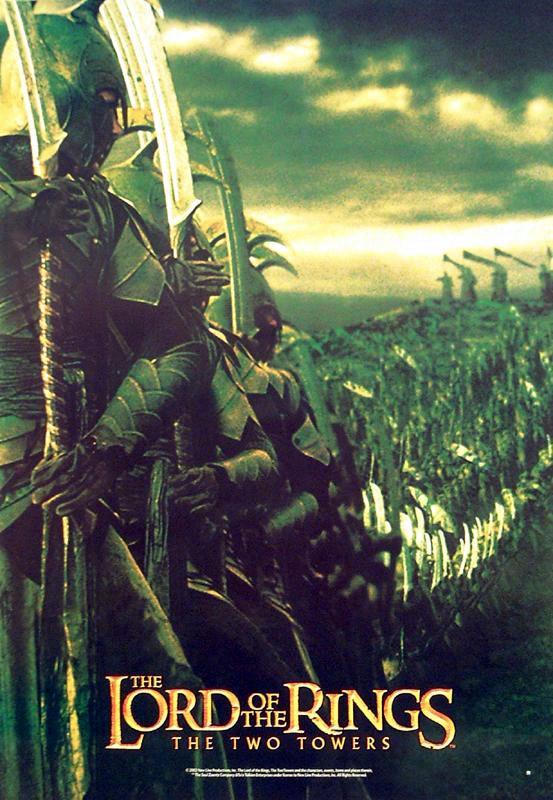 плакат фильма Властелин Колец: Две крепости