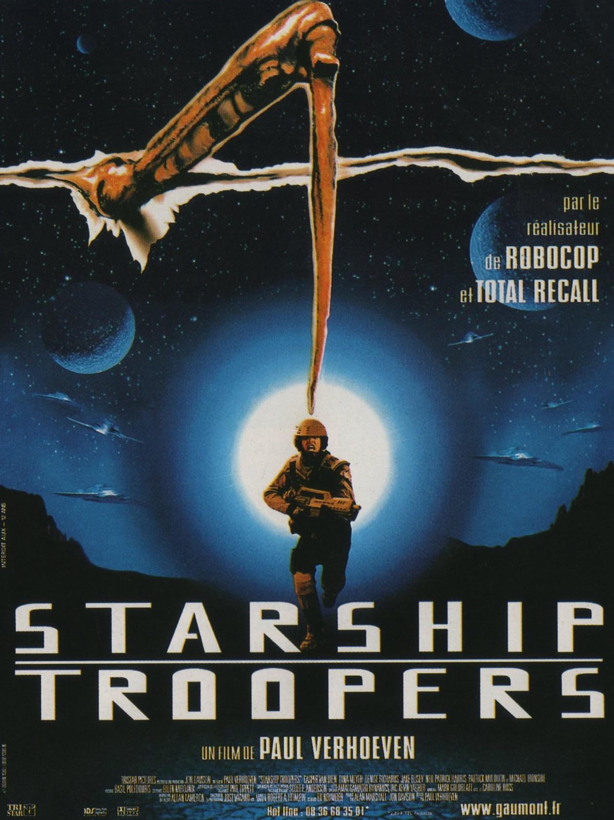 плакат фильма Звездный десант