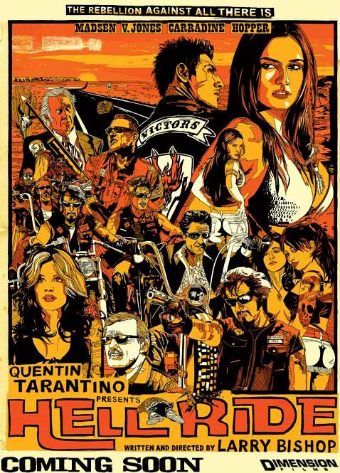 плакат фильма тизер Адская поездочка*