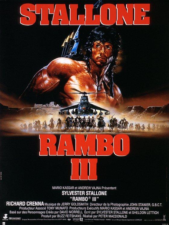плакат фильма Рэмбо III