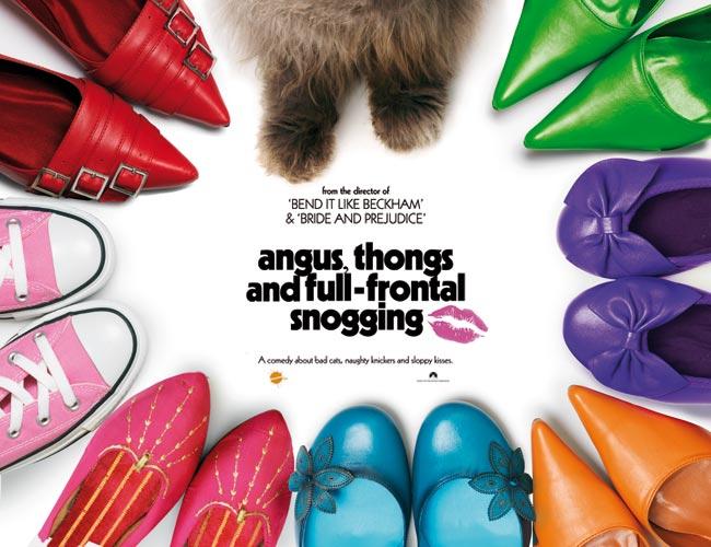 плакат фильма Ангус, стринги и поцелуи взасос