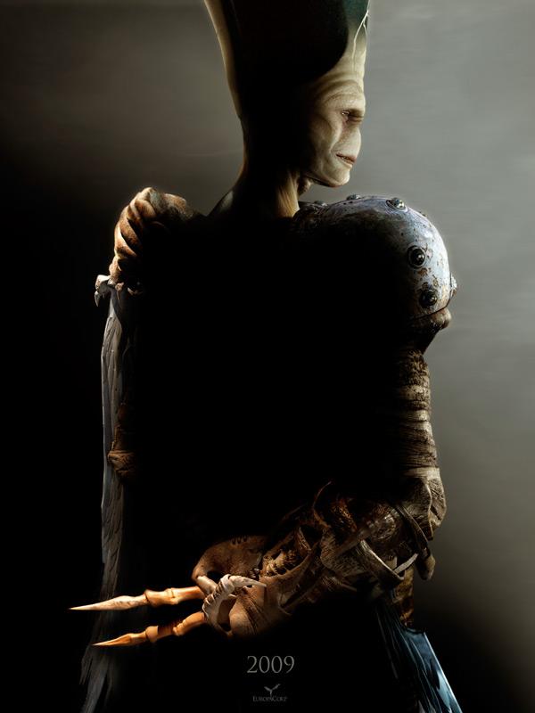 плакат фильма тизер Артур и месть Урдалака