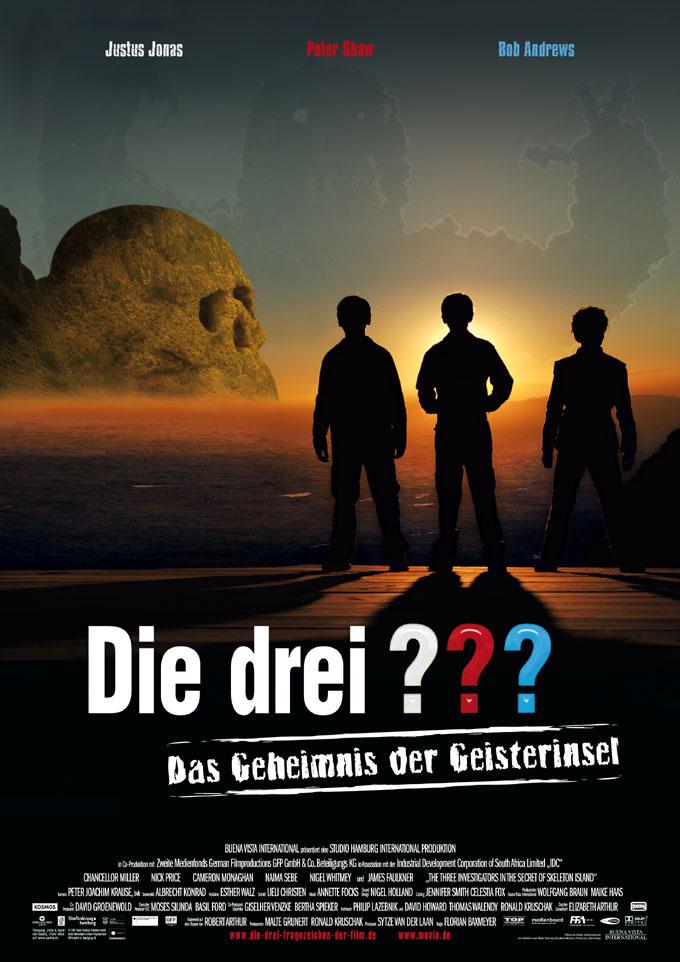 плакат фильма Три сыщика и тайна Острова скелетов