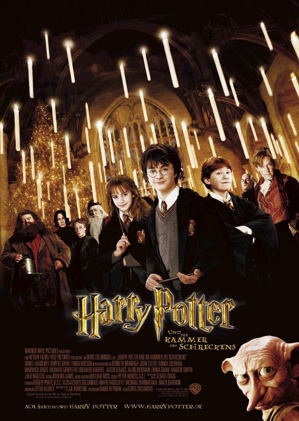 плакат фильма постер Гарри Поттер и Тайная комната