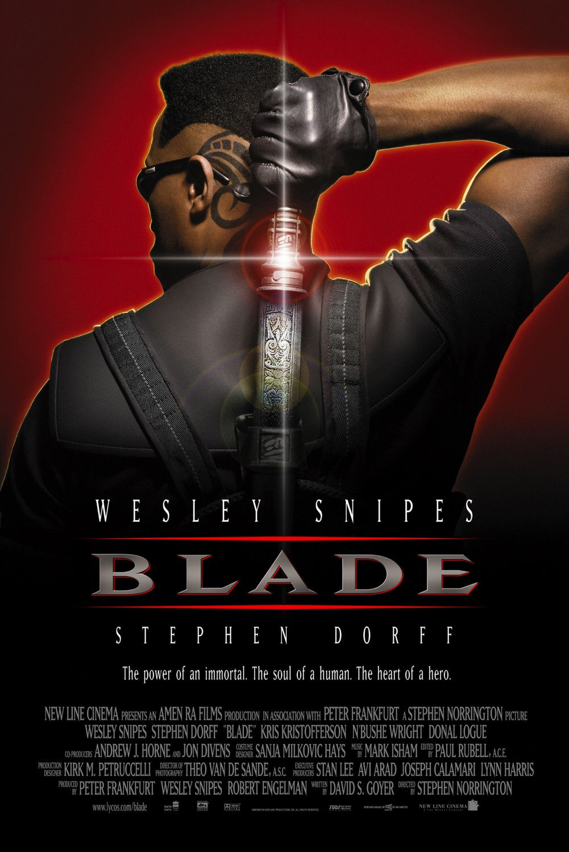 плакат фильма Блэйд