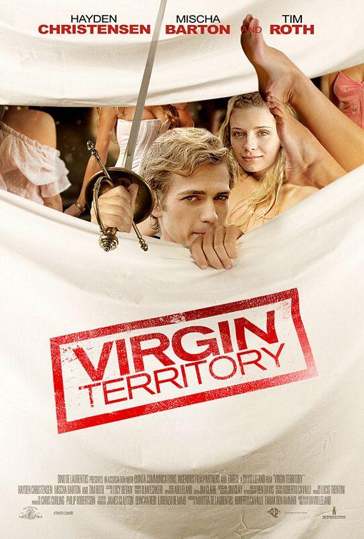 плакат фильма Территория девственниц