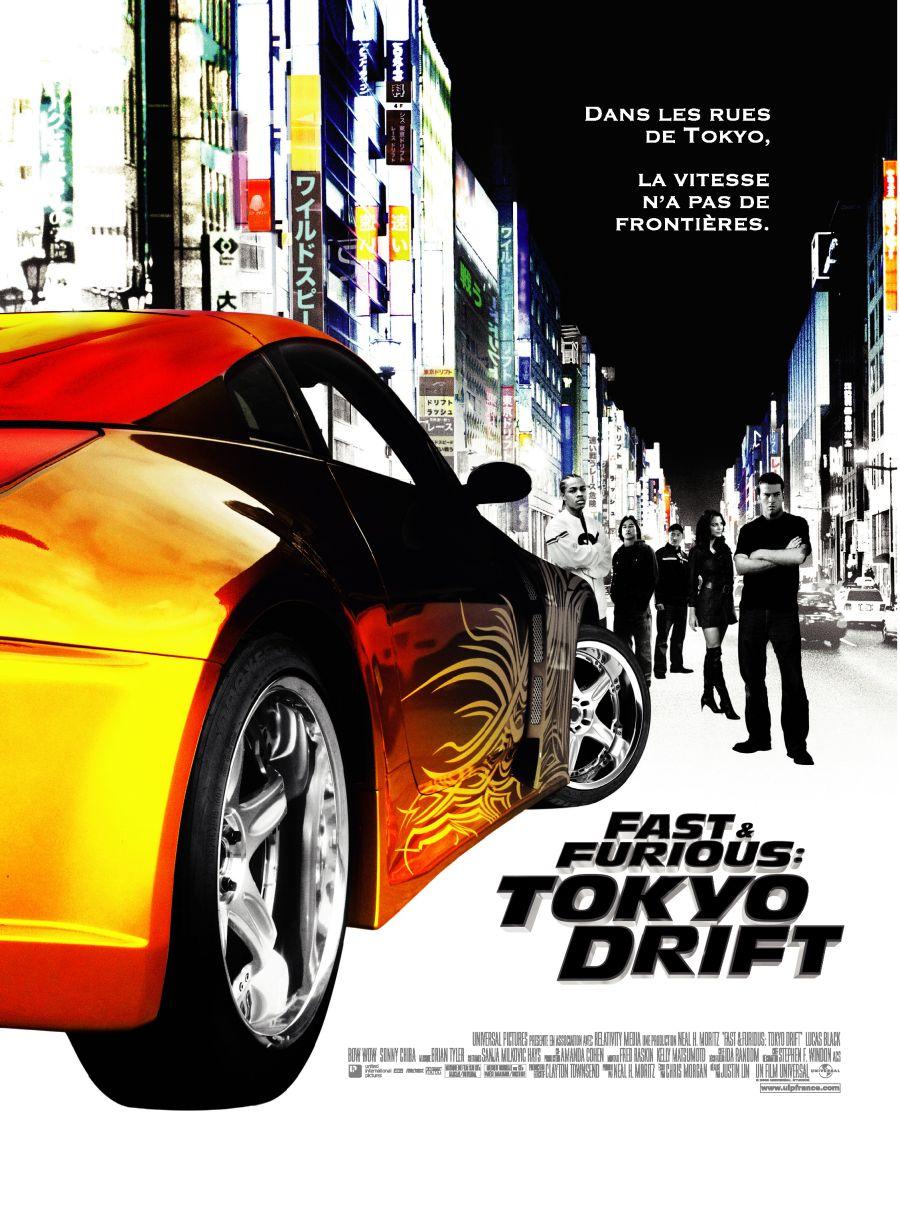 плакат фильма Тройной форсаж: Токийский дрифт