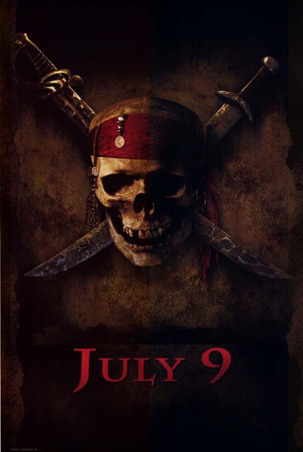 плакат фильма Пираты Карибского моря: Проклятие черной жемчужины