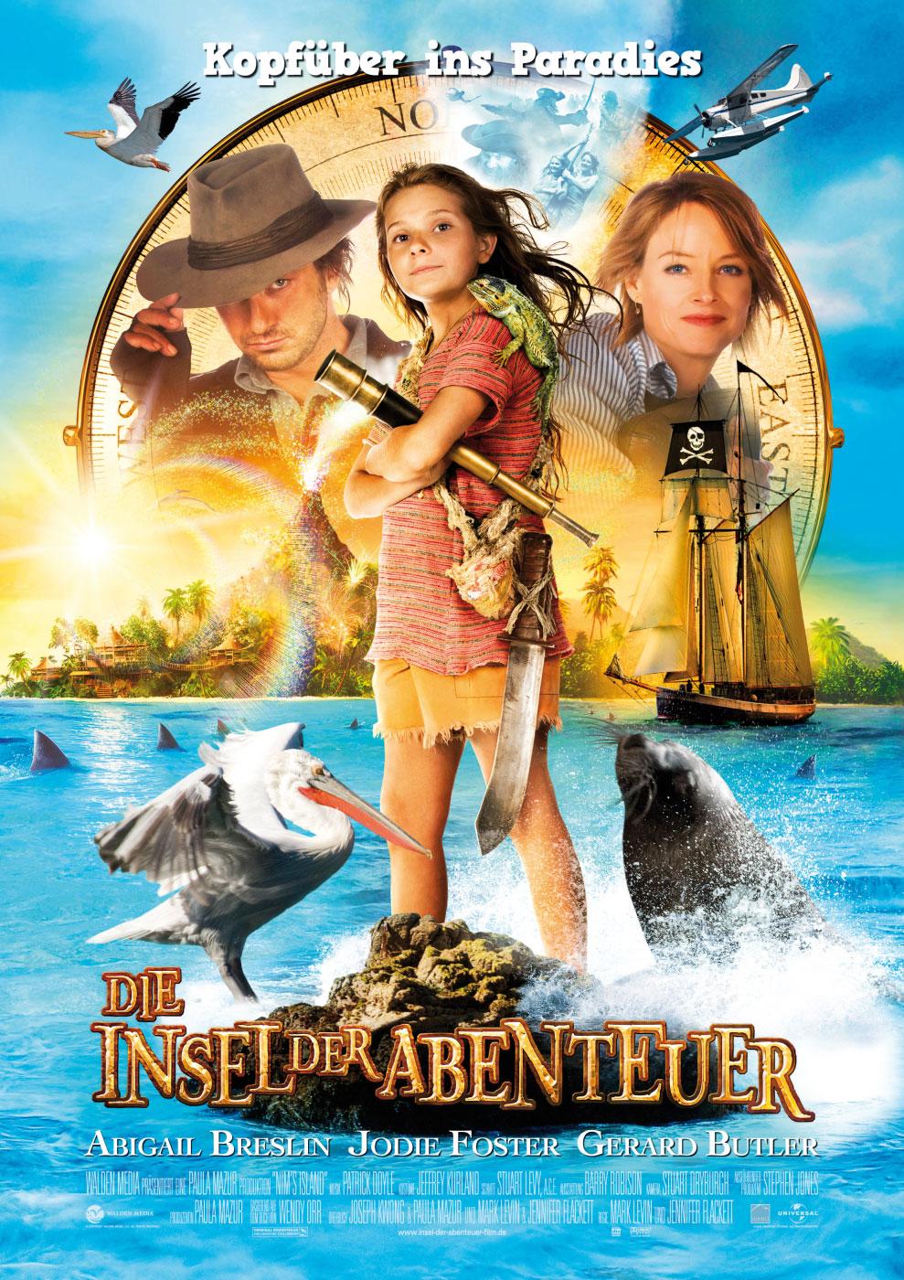плакат фильма Остров Ним