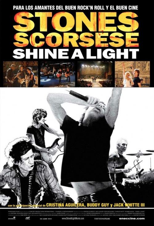 плакат фильма The Rolling Stones: Да будет свет