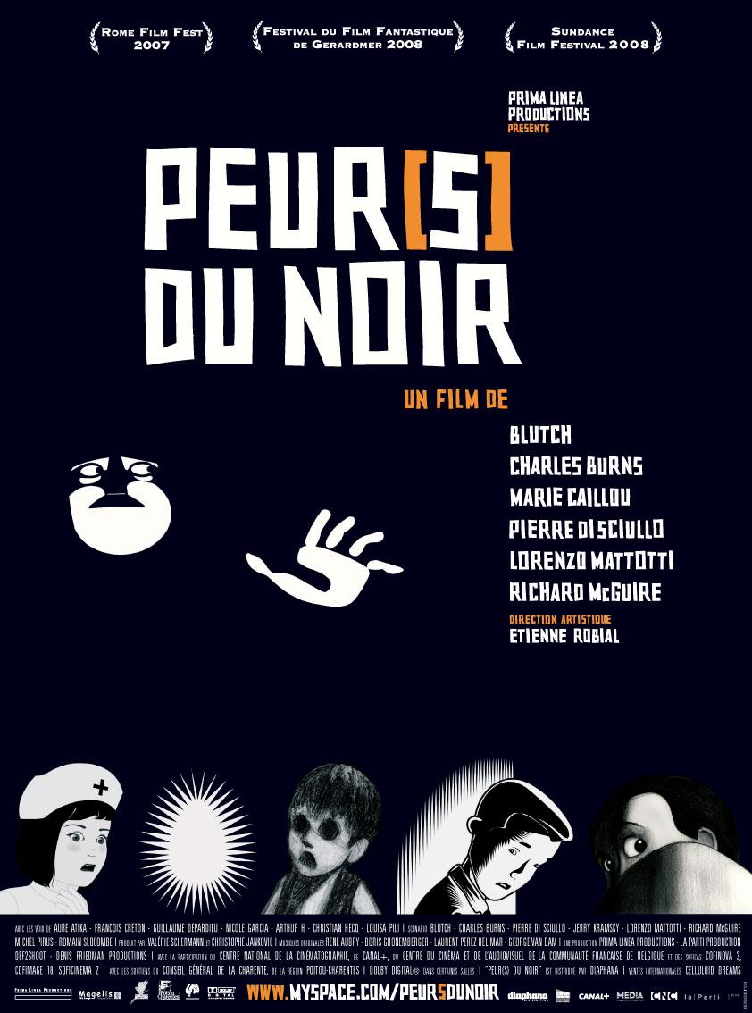 плакат фильма Страх темноты