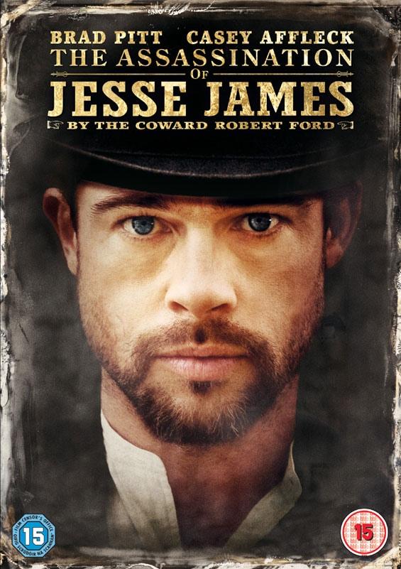 плакат фильма DVD Как трусливый Роберт Форд убил Джесси Джеймса