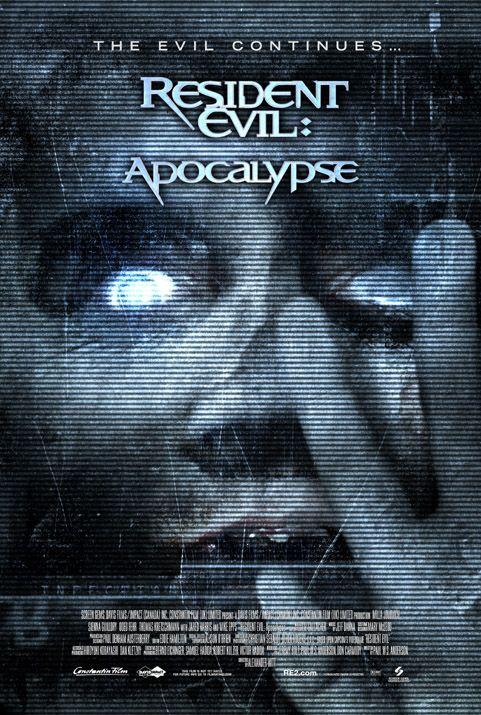 плакат фильма Обитель зла II: Апокалипсис