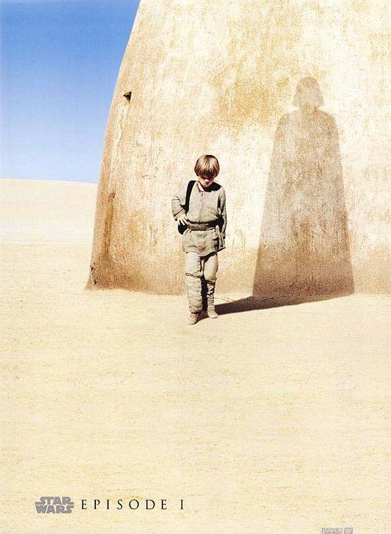 плакат фильма Звездные войны: Эпизод I — Скрытая угроза