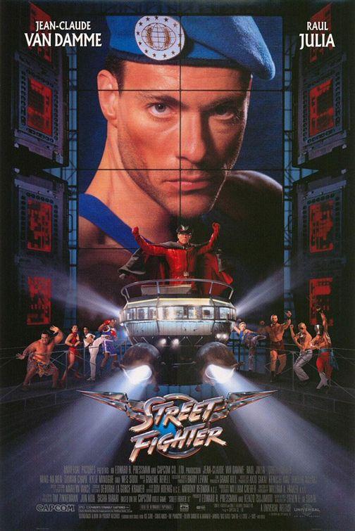 плакат фильма Уличный боец