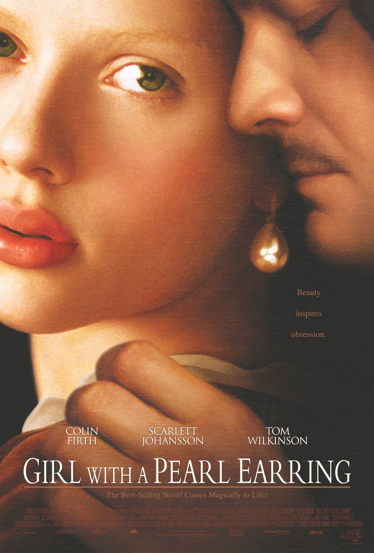 плакат фильма Девушка с жемчужной сережкой