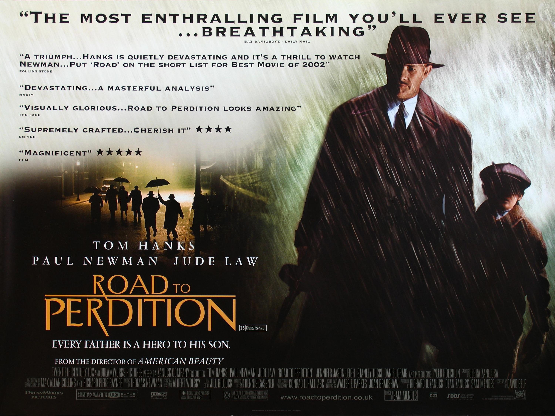 плакат фильма баннер Проклятый путь