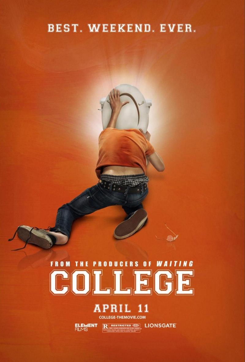 плакат фильма Колледж