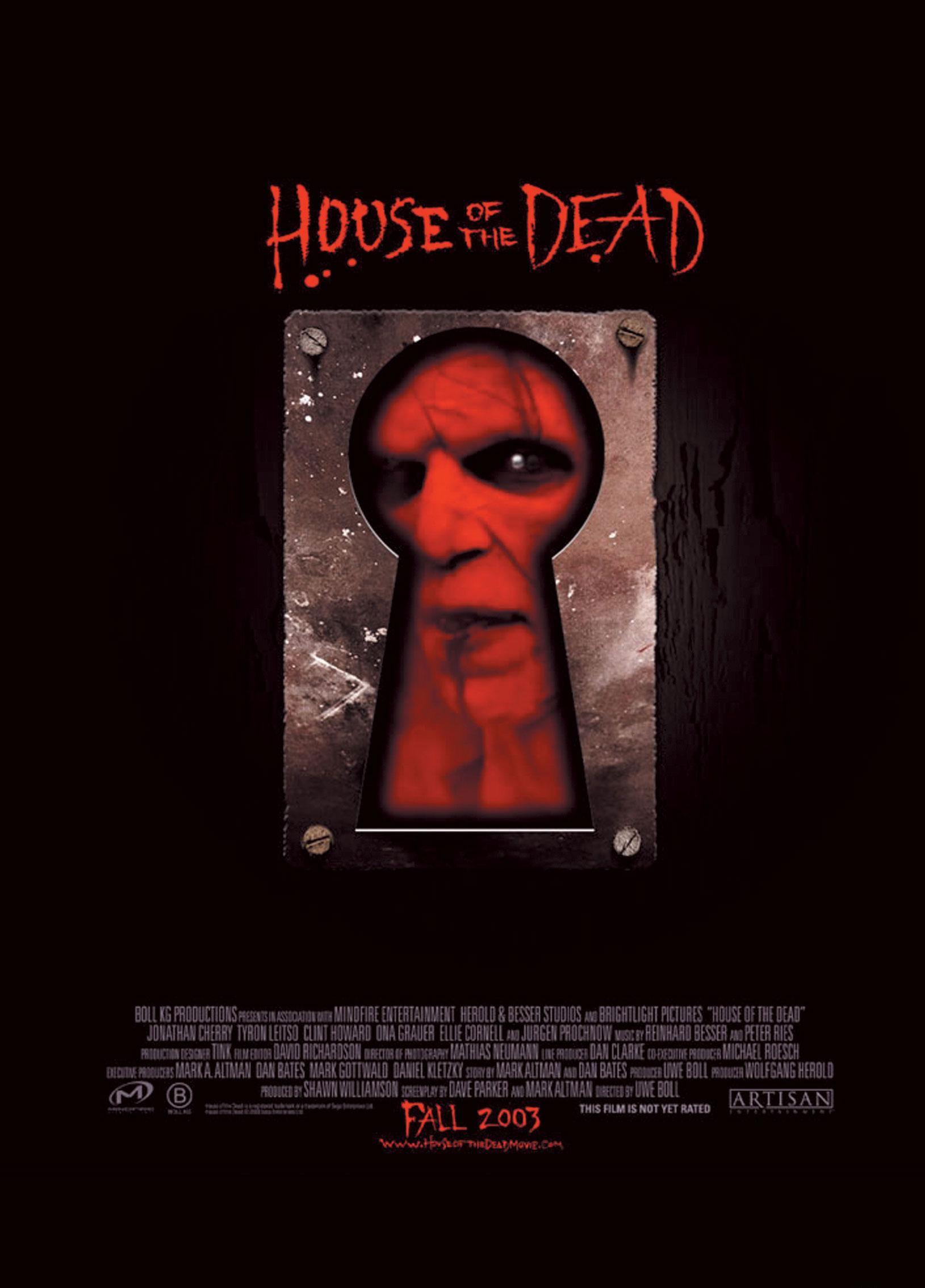 плакат фильма Дом мертвых