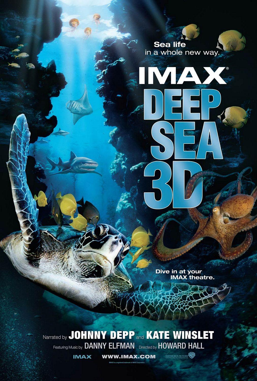 плакат фильма Тайны подводного мира 3D