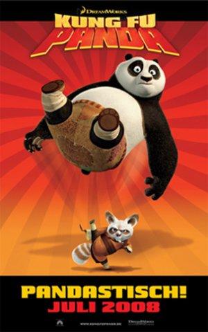 плакат фильма Кунг-фу панда