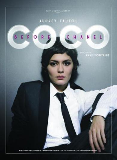 плакат фильма Коко до Шанель