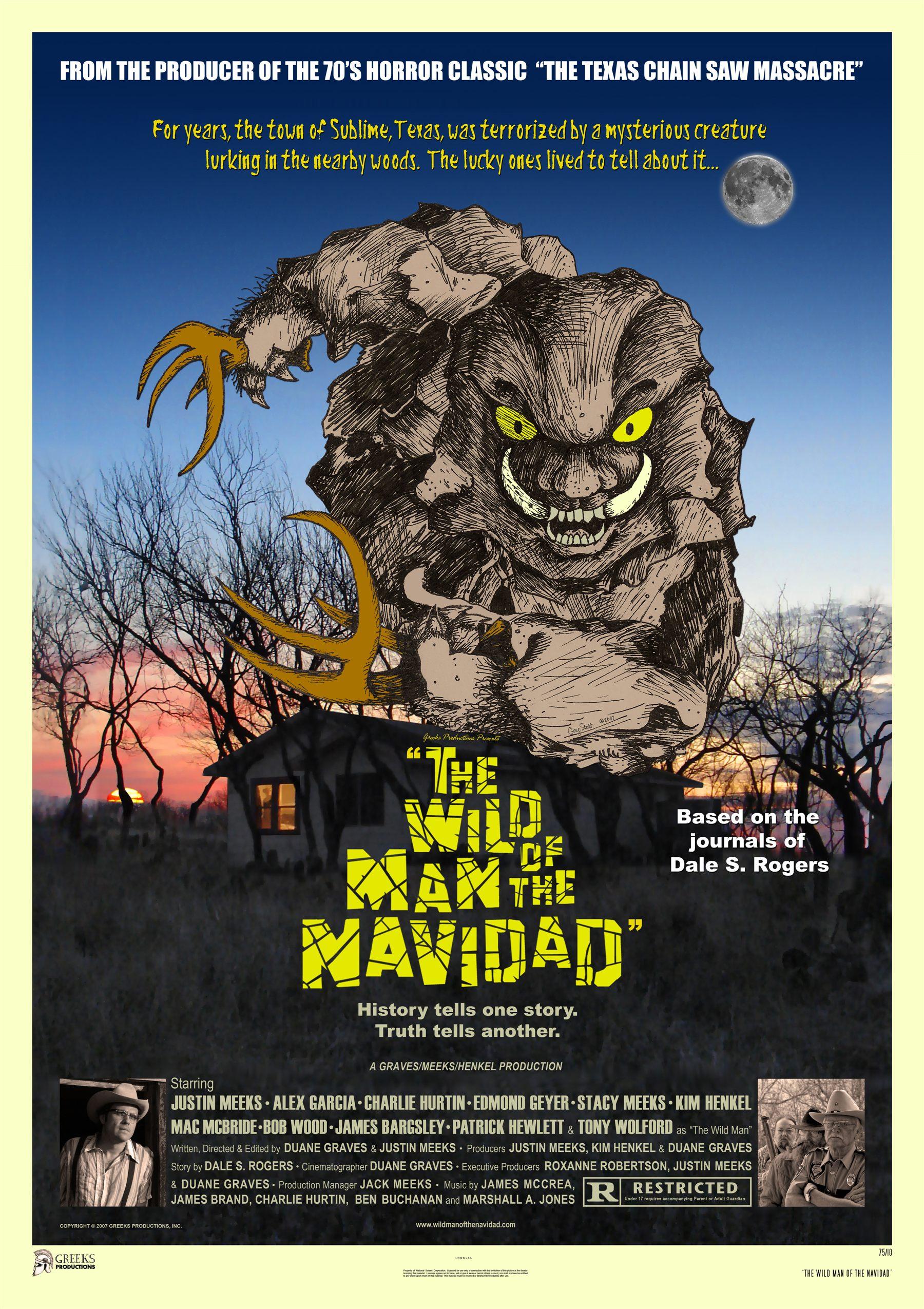плакат фильма Дикарь из Нэвидэда*