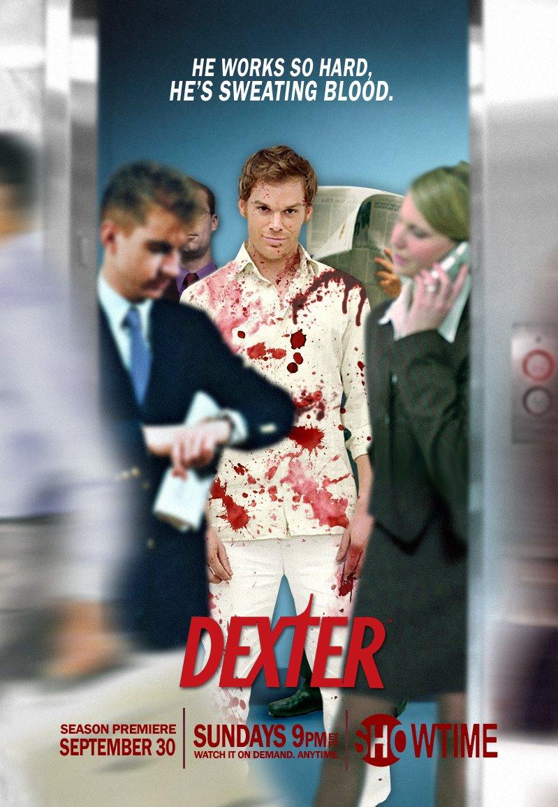 плакат фильма постер сезон 2 Декстер