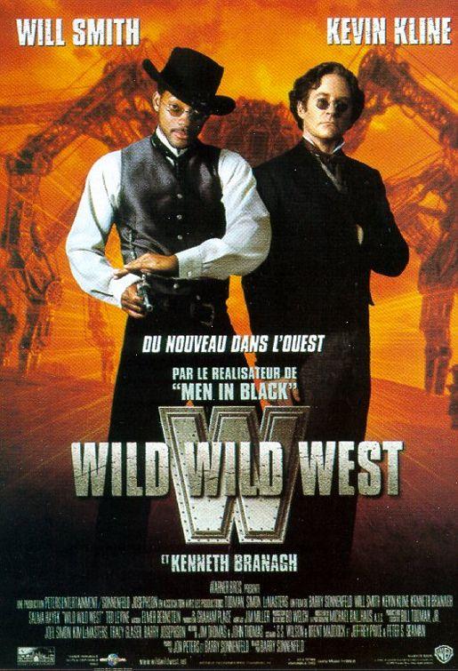плакат фильма Дикий, дикий Вест