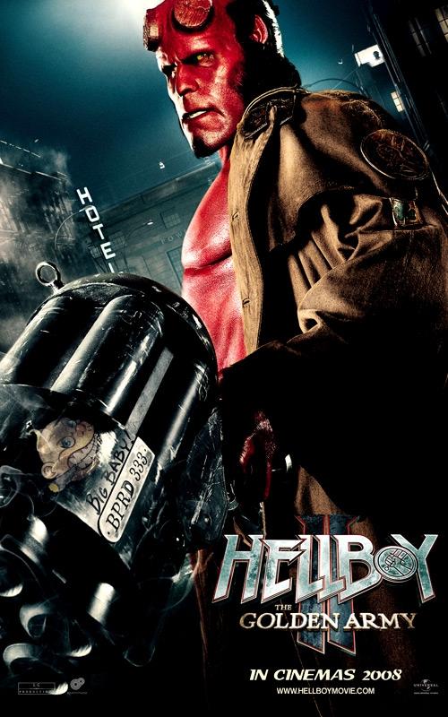 плакат фильма Хеллбой II: Золотая армия