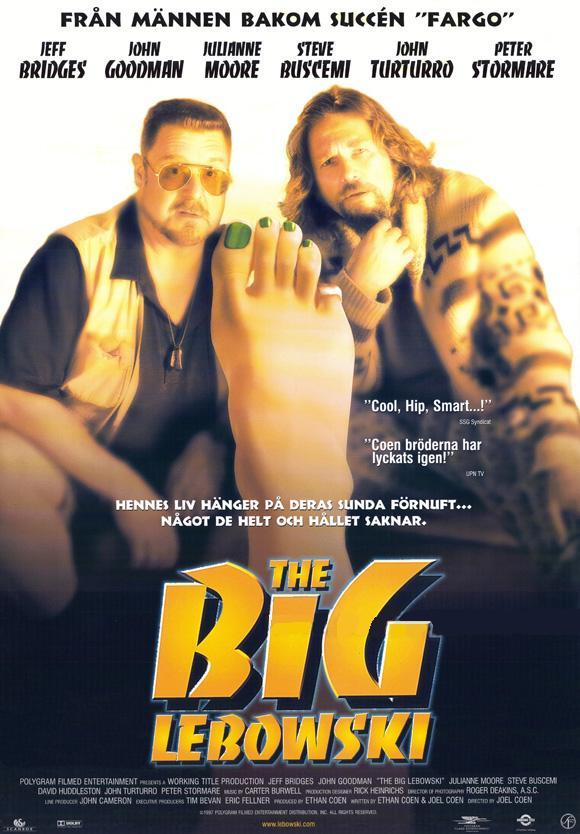 плакат фильма Большой Лебовски