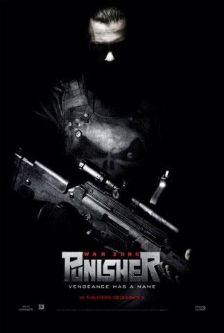 плакат фильма Каратель: Территория войны