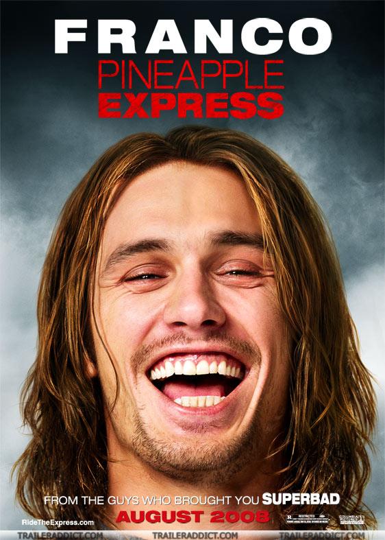 плакат фильма Ананасовый экспресс: Сижу, курю